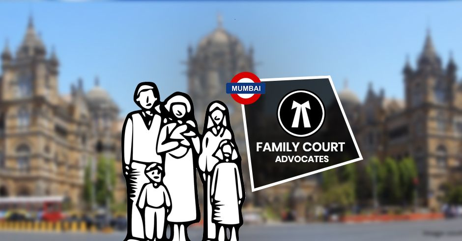 A family is standing in front of bombay high court waiting for justice