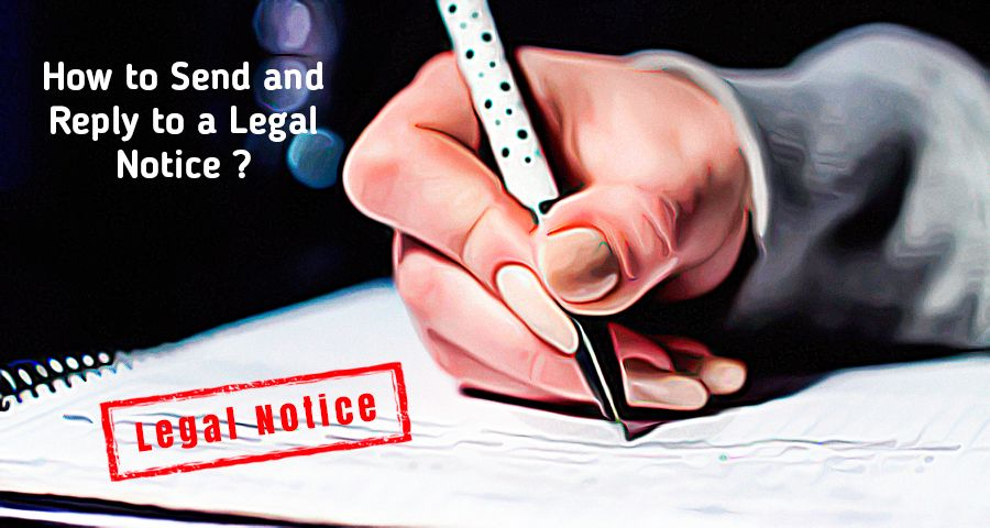 A femal lawyer hand writing legal notice with pen and paper