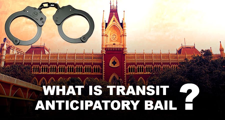 Supreme Court with hand cuff for transit anticipatory bail