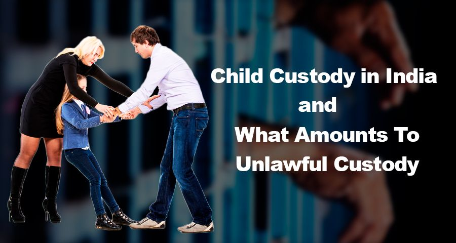 Couples fighting over legal custody of child