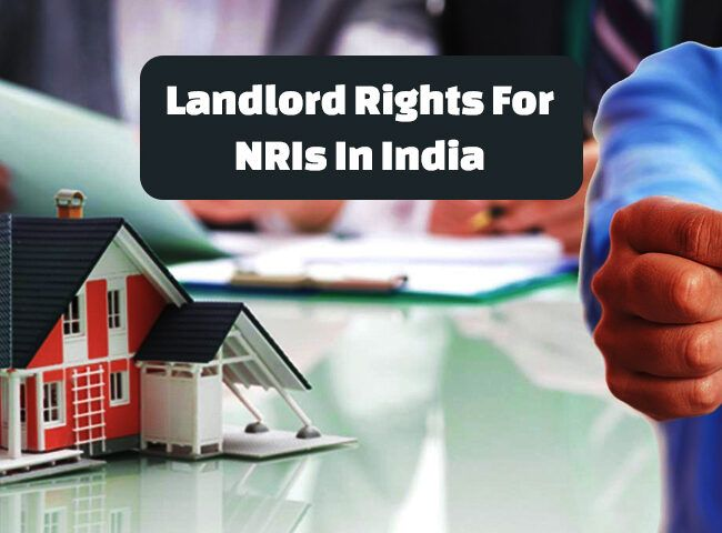 NRI Landlord holding key to his house